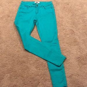 Paige turquoise jeans
